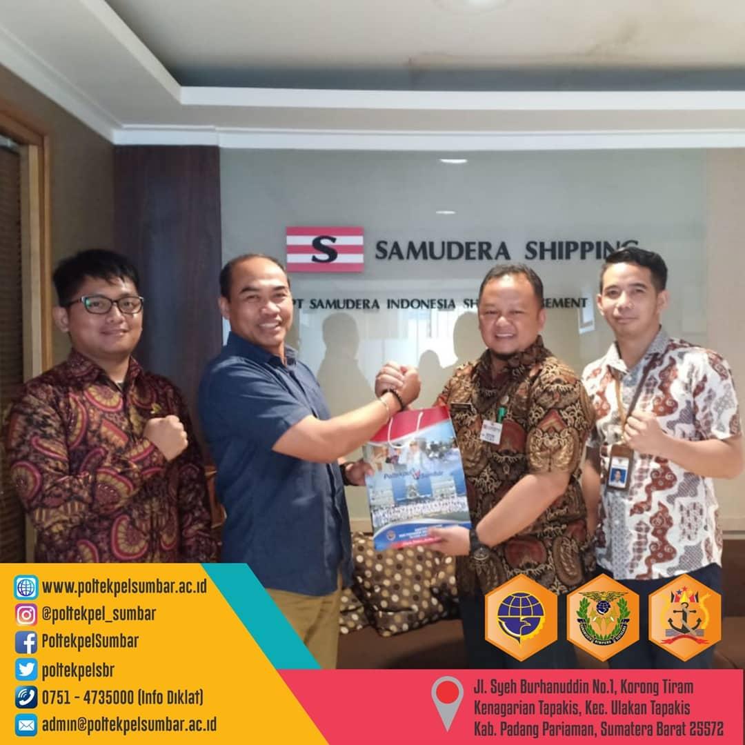 POLTEKPEL SUMBAR ADAKAN KUNJUNGAN KE PT. HANCHANG INDONESIA & PT. SAMUDERA INDONESIA