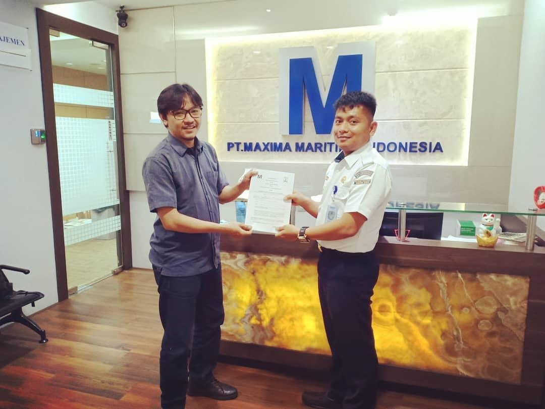 POLTEKPEL SUMBAR ADAKAN KUNJUNGAN KERJASAMA KE PT. MAXIMA MARITIMA INDONESIA